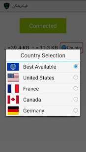 App فیلترشکن قوی و پرسرعت APK for Windows Phone