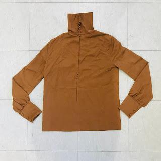 Fendi Brown Tunic Top