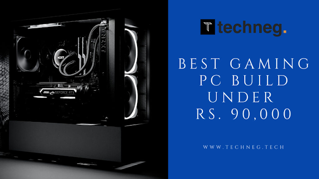 Best Gaming PC Build under 90000 in India with AMD Ryzen 5 5600X