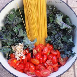 Kale & Tomato One-Pot Pasta.