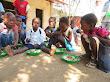 Educação: Alimentação Escolar SLM, Manjangue, Chokwé, Abr16