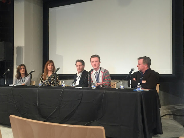 MSPIFF panel with Actors Kristen Gregorson, Kate Nowlin, Paul Cram, Peter Moore, and Patrick Coyle
