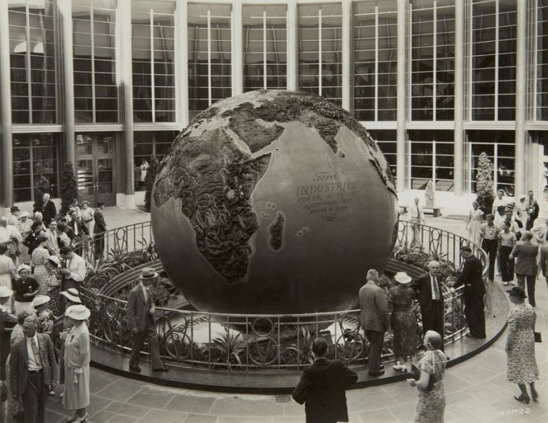 Image result for ford rotunda globe