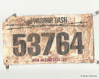 That is one dirty race bib!