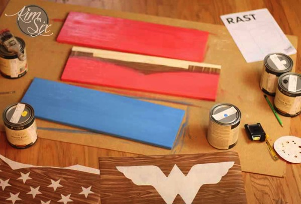 Wonder Woman Painted Rast Hack Supplies