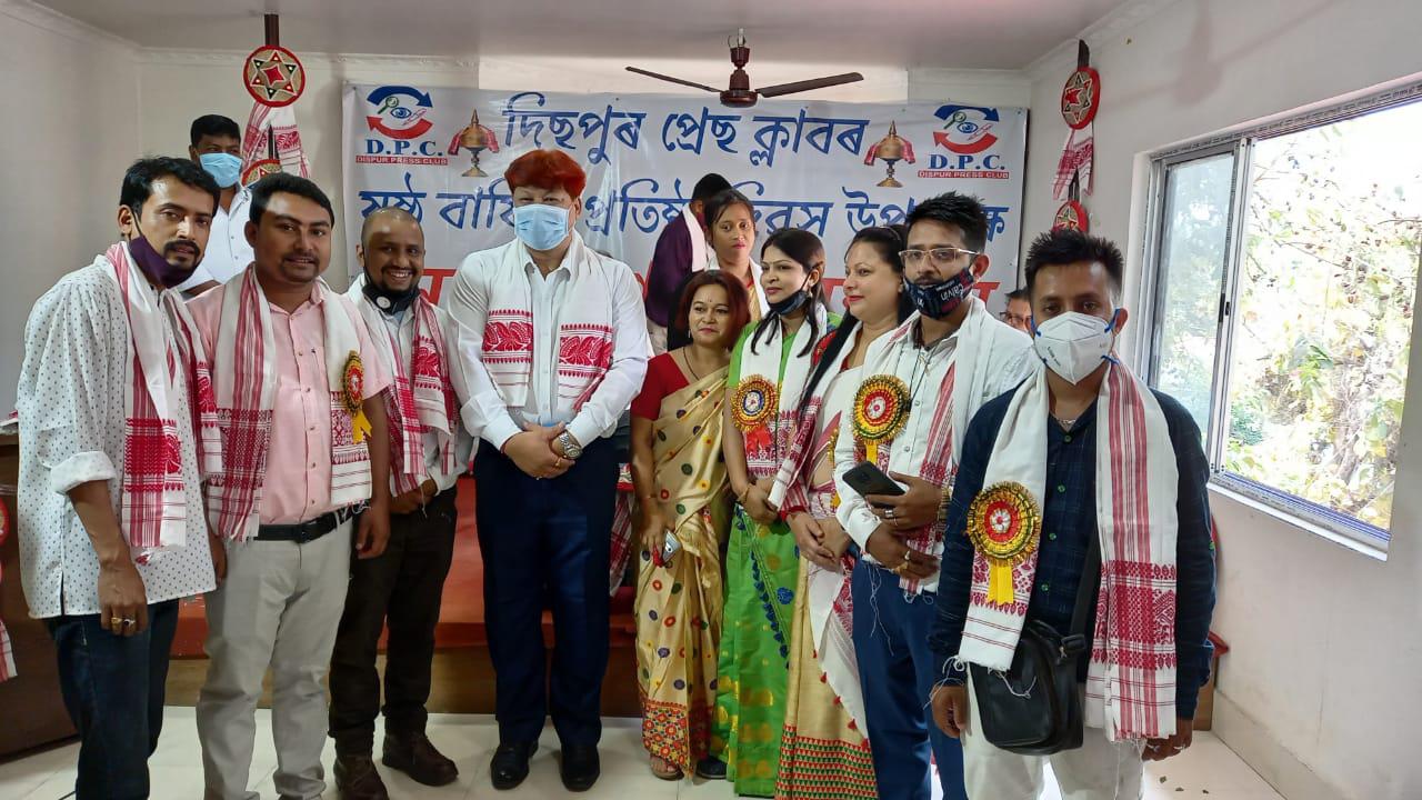 দিসপুর প্রেস ক্লাবের 6তম প্রতিষ্ঠা বার্ষিকী উদযাপিত