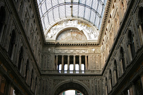 Archway of the Galleria Umberto