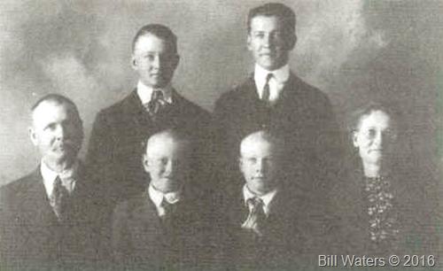 Anton Erickson family