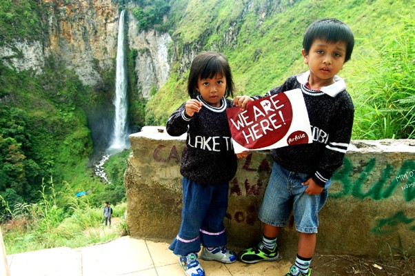 WE ARE HERE! SIPISO-PISO WATERFALL