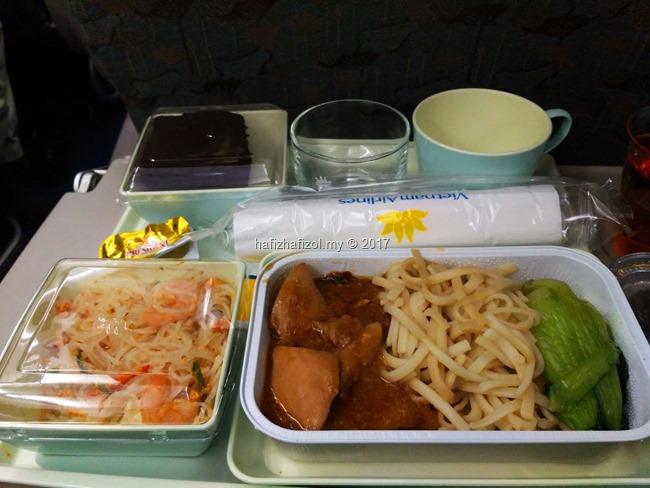 makanan di vietnam air
