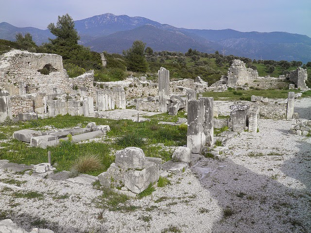 The Byzantine Basilica, Xanthos, Lycia, Turkey