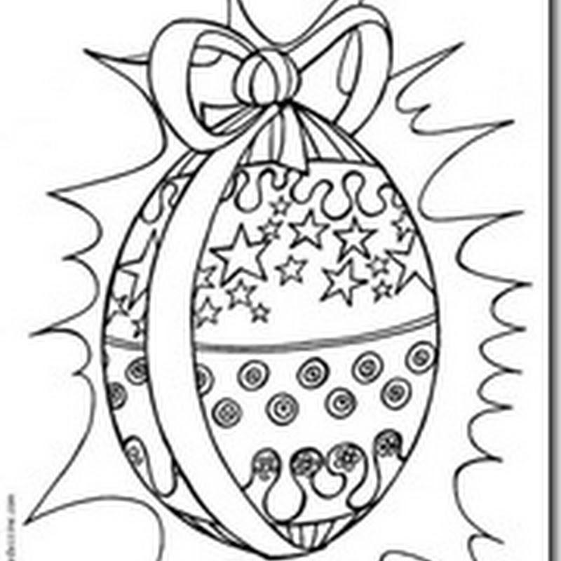 conejos y huevos de Pascua para pintar