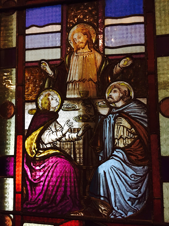 Stained glass window, Arnprior church