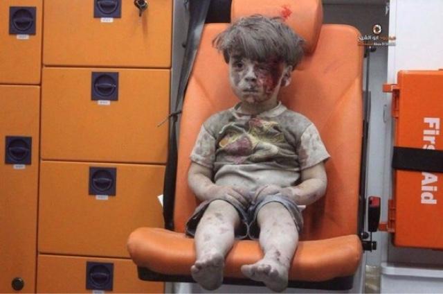 La mala suerte de nacer en Aleppo