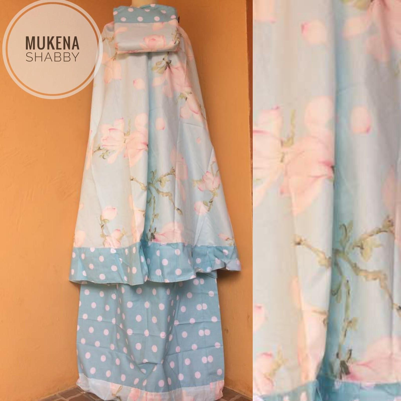 Aprianti Collection MUKENA SHABBY BLUE