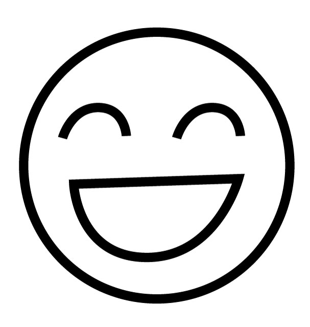 emoji laughing face coloring coloring pages