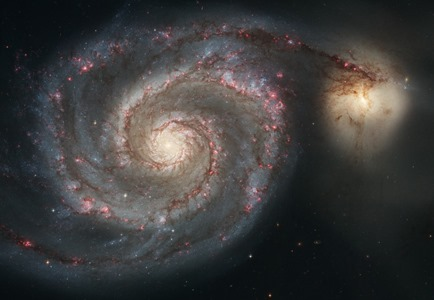 NGC 5194 e NGC 5195