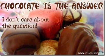 chocolate is the answer 3