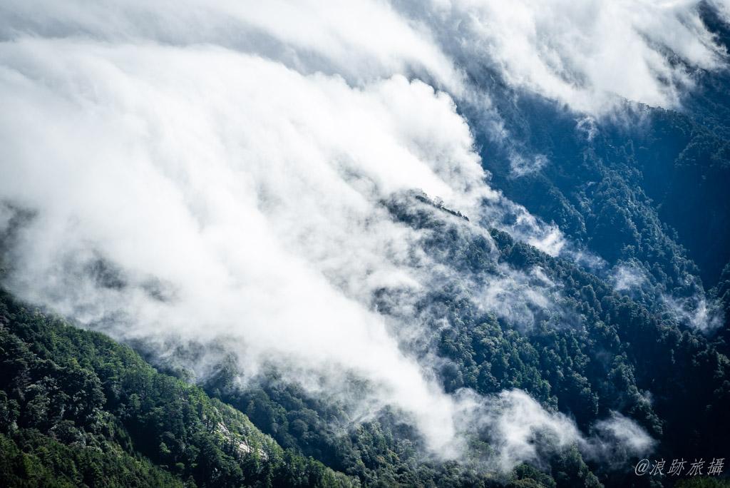 奇萊南華 雲瀑
