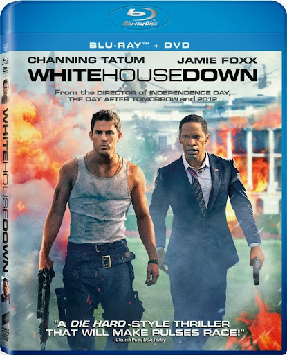 White House Down (2013) 1080p BluRay x264 ESubs AC3 Dual Audio [Hindi DD5.1 + English DD5.1]