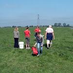 Kind bezoekt boer 2008