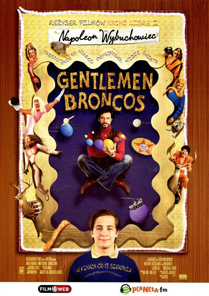 Ulotka filmu 'Gentlemen Broncos (przód)'