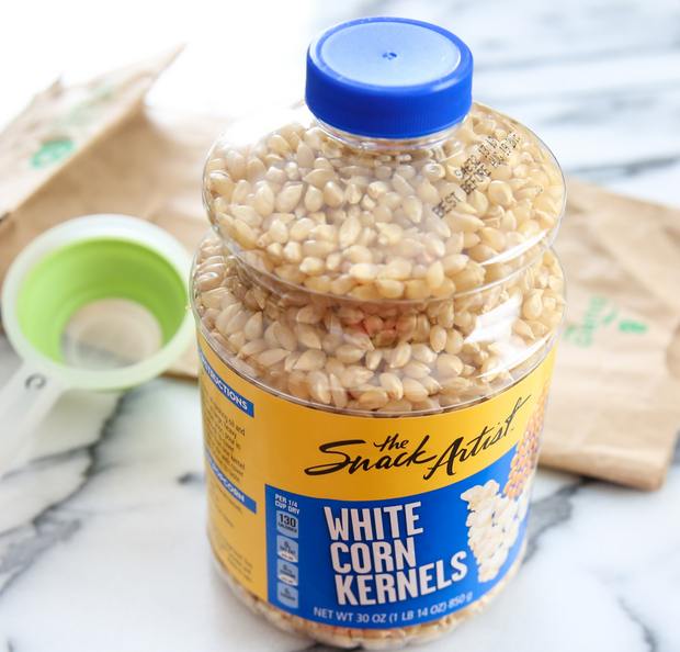 All You Need Is An Ordinary Brown Paper Lunch Bag A Measuring Cup And Container Of Popcorn Kernels If Desired Can Add Some Salt Oil At This