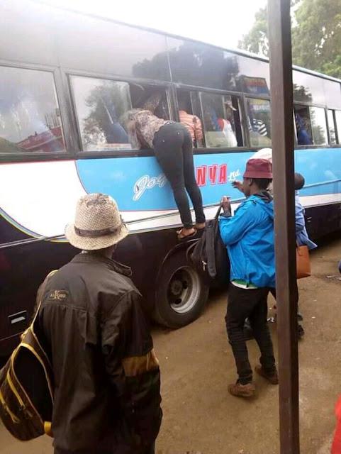 10 photos From Nairobi from the ongoing Matatu strike