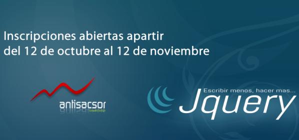 Curso online gratuito de jQuery y Javascript