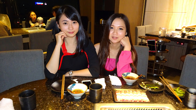 chinese hot pot dinner with my friends at HAIDILAO in Taipei in Taipei, T'ai-pei county, Taiwan