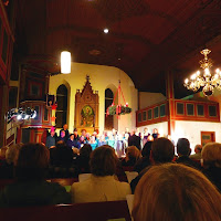Bielefelder Jazzchor Chit Chat Company in Kirche  zu Bergkirchen 14.12.14 (1).JPG