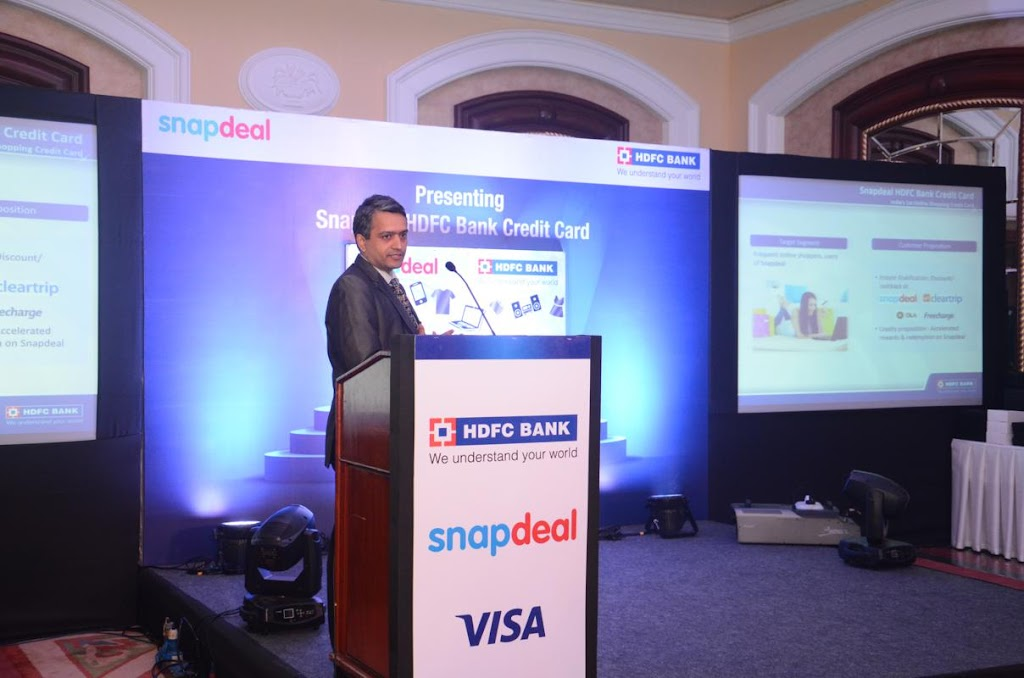 SnapDeal HDFC Bank Credit Card Lanuch - 8