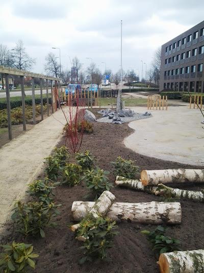 Ecologische tuin sociaal fonds Den Bosch