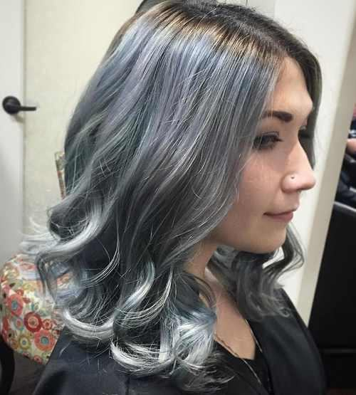 Best Silver Hairstyles For 2018