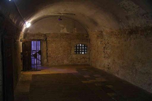 La prison attenante au palais des Doges.