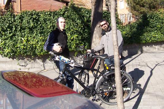 BiciFinde de la Dehesa de la Villa a El Viso, sábado 21 de enero 2012