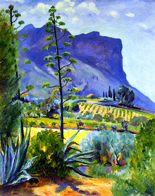 Henri-Charles Manguin - The Aloes in Bloom, Cassis