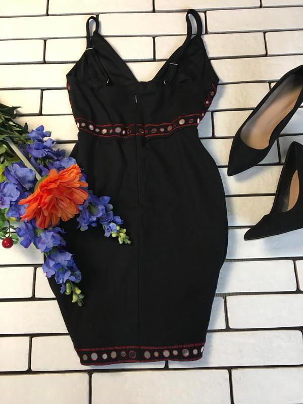Женское мини платье