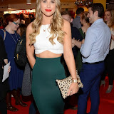 OIC - ENTSIMAGES.COM - Vogue Williams at the M & M  party to celebrate a spoof election of its confectionary characters.  M&M's World, Leicester Square, London, 14th April 2015   Photo Mobis Photos/OIC 0203 174 1069