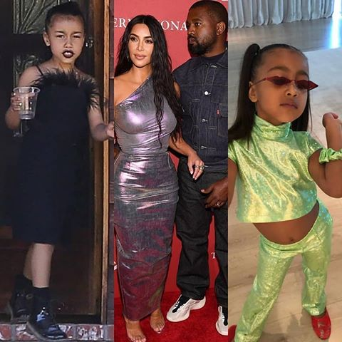 Kanye West bans his daughter North from wearing make-up and crop tops, when did Kanye West give his life to Christ, sd news blog, Kim Kardashian's daughter, kanye West Jesus is King, Kanye West latest album, celebrity gist, gossip blog Nigeria, Abuja blogger, Abuja bloggers, Nigerian bloggers hub, Nigerian bloggers 2019, kkw beauty launch, celebrity gossip America,