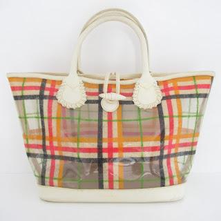 Burberry PVC Tote Bag