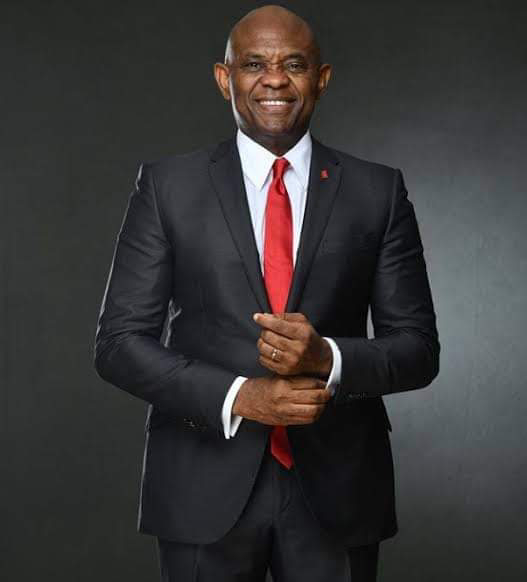 Tony Elumelu, was attempting questions being asked him from his social media page.