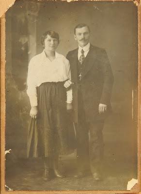 Александра и Иван Шлюпкины из Узново(фото из личного архива О.И. Шлыпкиной)