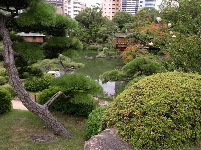 相楽園日本庭園