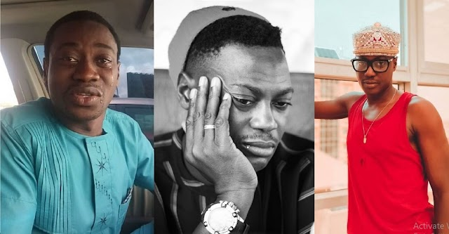 """""""Who's Next to Die?"""" - Adedimeji Lateef in Hot Tears as he Mourn Sound Sultan [Video]"""
