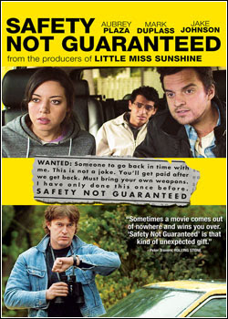 Filme Poster Safety Not Guaranteed DVDRip XviD & RMVB Legendado