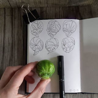 Sprout drawing by Alice Draws The Line