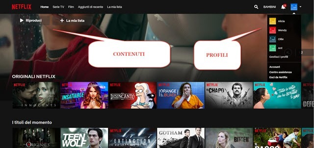 netflix-interfaccia
