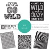 Hero Arts Go Wild Digital Kit