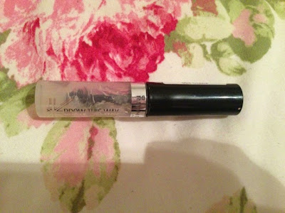 Rimmel's clear brow gel